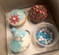 Kelly and I visited Duff's Cakemix in West Hollywood - these are my creations.