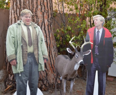 Farley, Spade and the destructive deer...