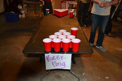 No party is complete without a little pong.